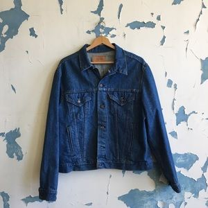 Vintage Levi's Made in USA Denim Trucker Jacket